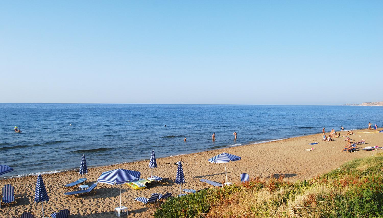 Danaos Beach Apartmenti viesnīca (Krēta, Grieķija)
