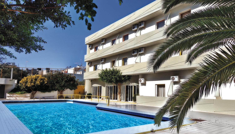 Porto Plazza hotell (Heraklion, Kreeka)