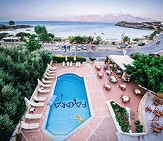 Faedra Beach Agios Nikolaos viesnīca (Herakleja, Grieķija)