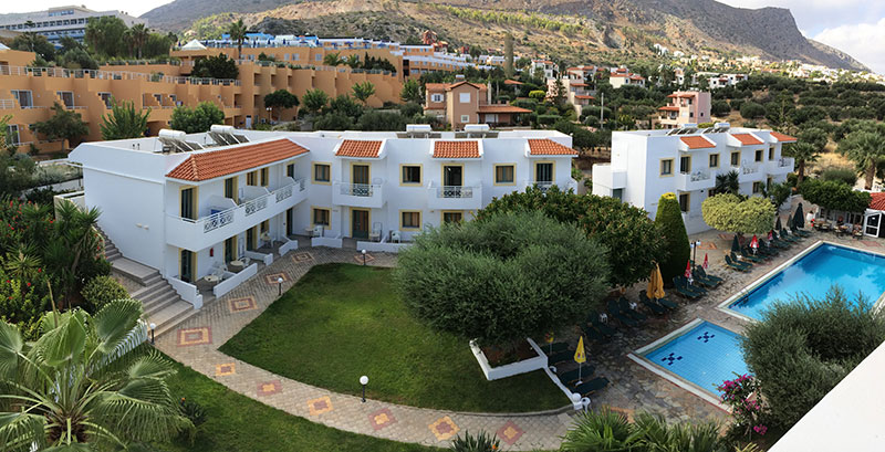 Nikolas Villas Apartments hotell (Heraklion, Kreeka)