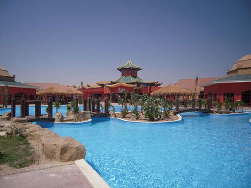 Pickalbatros Jungle Aqua Park viešbutis (Hurgada, Egiptas)