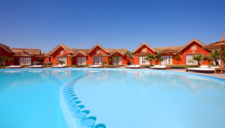 Pickalbatros Jungle Aqua Park hotell (Hurghada, Egiptus)