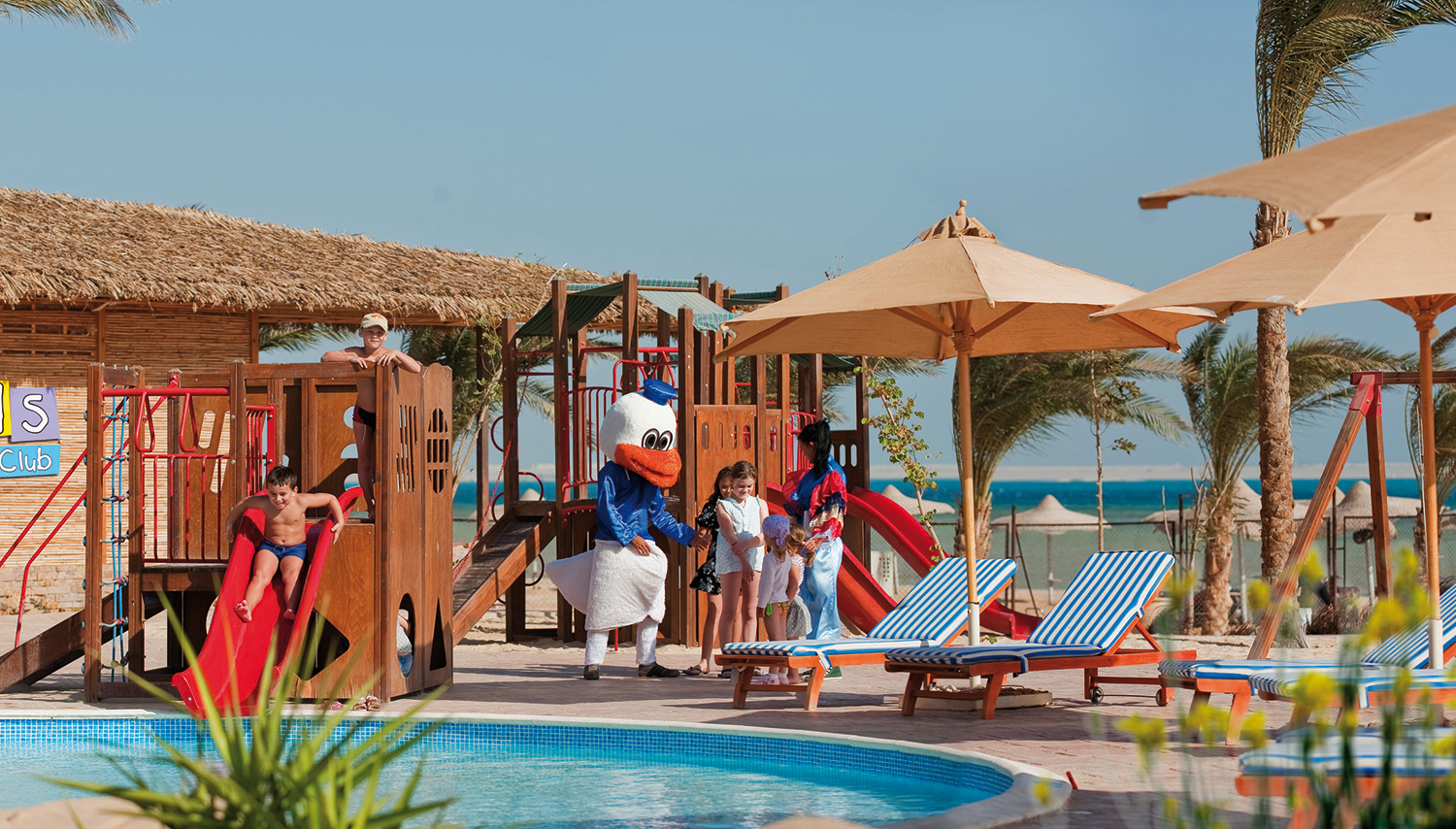 Amwaj Blue Beach Resort and SPA viešbutis (Hurgada, Egiptas)