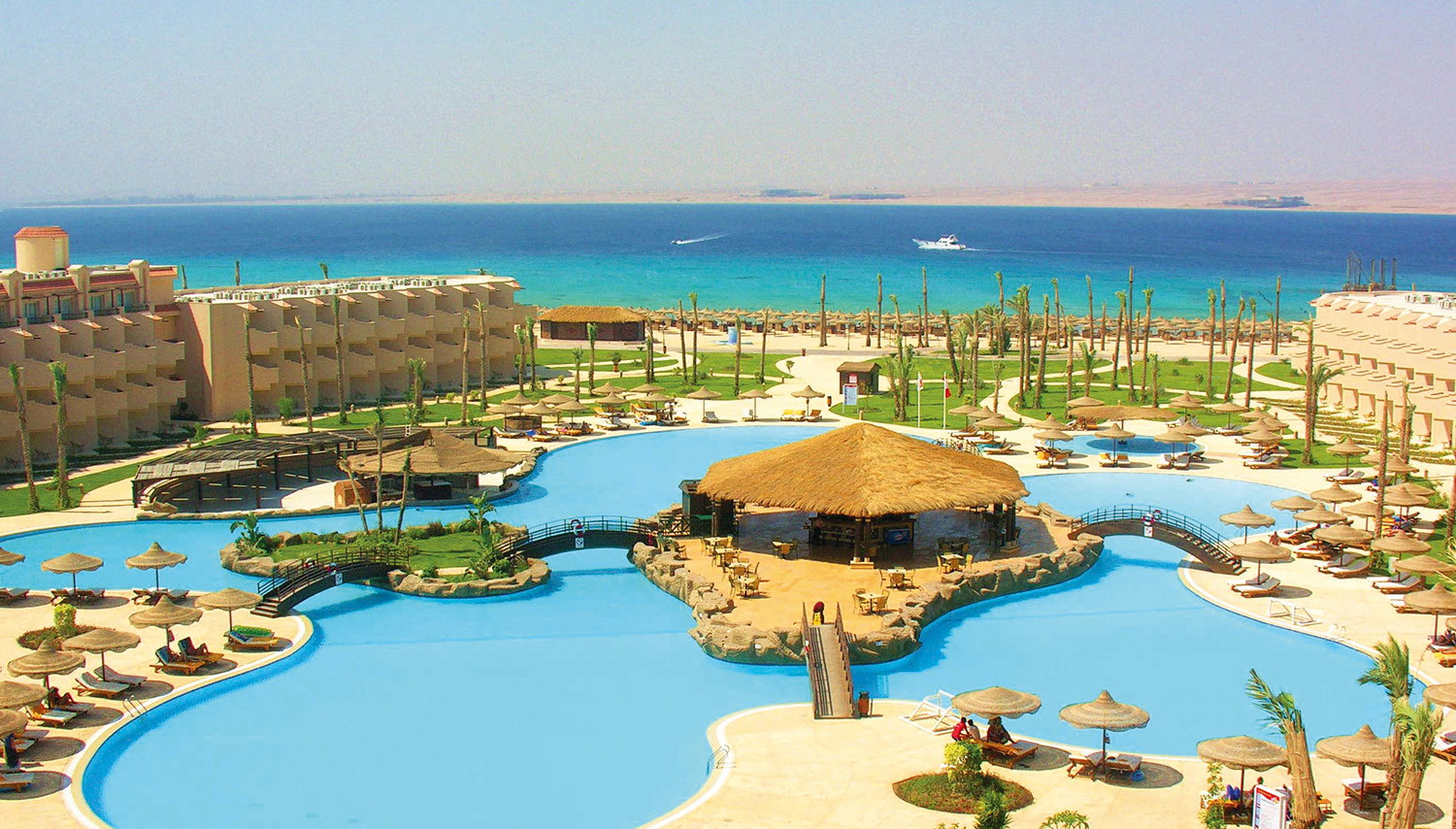 Pyramisa Sahl Hasheesh hotell (Hurghada, Egiptus)