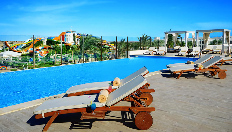 Jaz Aquaviva hotell (Hurghada, Egiptus)