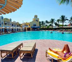 Lillyland Beach Club Resort viesnīca (Hurgada, Ēģipte)