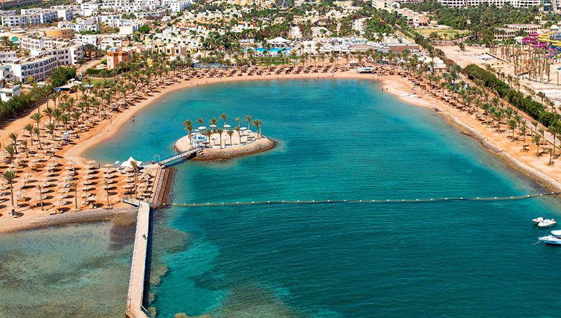 Lillyland Beach Club Resort hotell (Hurghada, Egiptus)