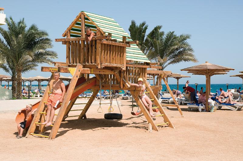 Eurotel Palm Beach Resort hotell (Hurghada, Egiptus)