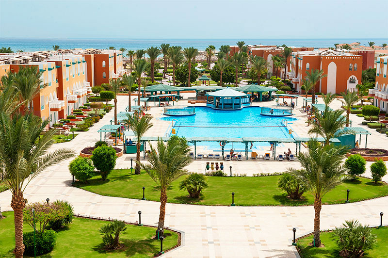 Sunrise Select Garden Beach Resort & Spa hotell (Hurghada, Egiptus)