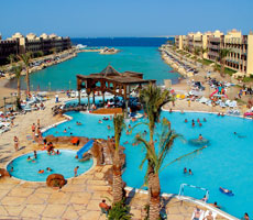Sunny Days El Palacio Hotel and Spa viesnīca (Hurgada, Ēģipte)