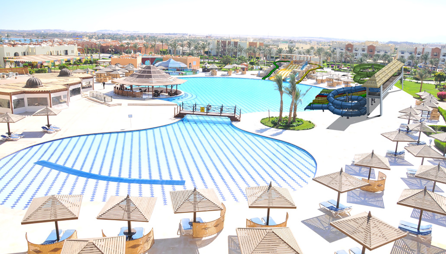 Sunrise Select Royal Makadi Resort hotell (Hurghada, Egiptus)