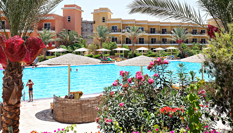 The Three Corners Sunny Beach Resort hotell (Hurghada, Egiptus)