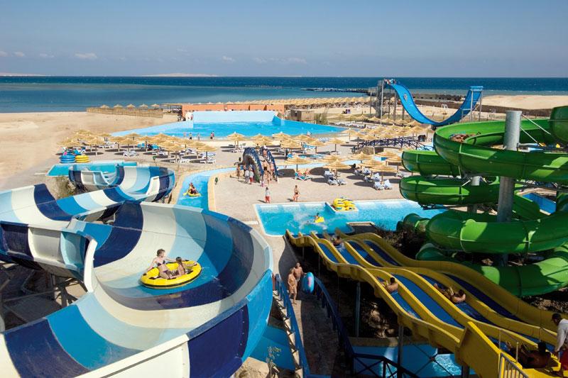 Titanic Beach Spa & Aqua Park viesnīca (Hurgada, Ēģipte)