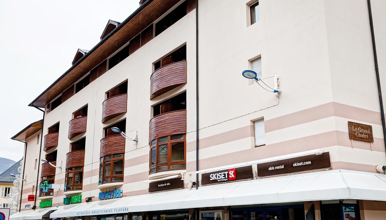 Residence Grand Chalet hotell (Lyon, Prantsusmaa)
