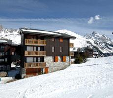 Residence Le Hameau du Mottaret viešbutis (Lionas, slidinėjimas Prancūzijoje, Prancūzija)