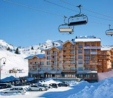 Residence Prestige Front De Neige viešbutis (Lionas, slidinėjimas Prancūzijoje, Prancūzija)
