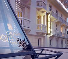 Mercure Grand Hotel des Thermes viešbutis (Lionas, Prancūzija)