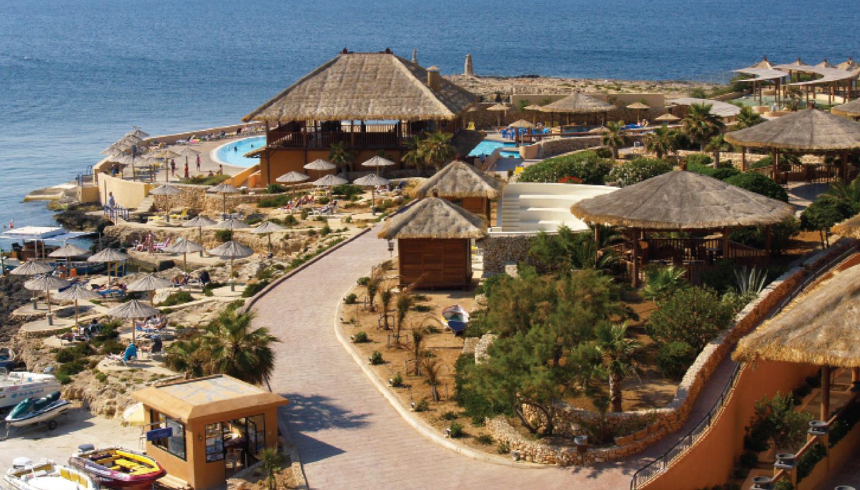 Ramla Bay hotell (Valletta, Malta)