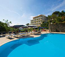 Hermitage & Park Terme viešbutis (Kampanija, Italija)
