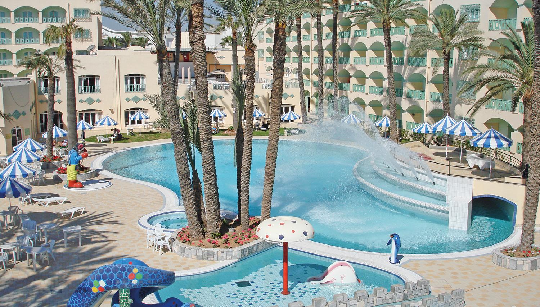Marabout viesnīca (Enfidha, Tunisija)