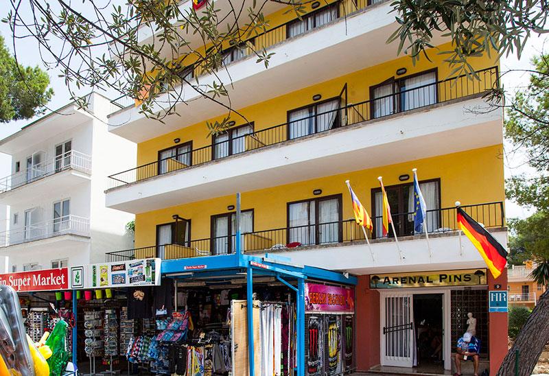 Arenal Pins viesnīca (Maljorka, Spānija)