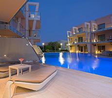 Eden Roc Resort viesnīca (Rodas sala, Grieķija)