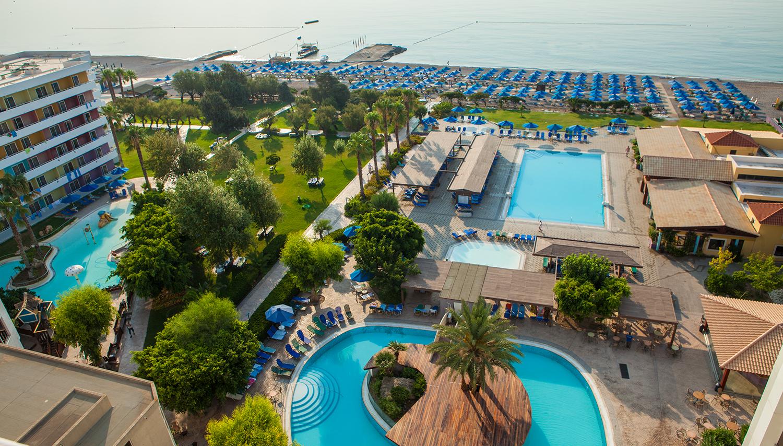 Esperides Beach hotell (Rhodos, Kreeka)