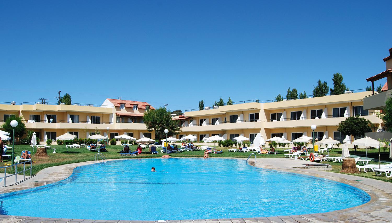 Princess Flora viesnīca (Rodas sala, Grieķija)