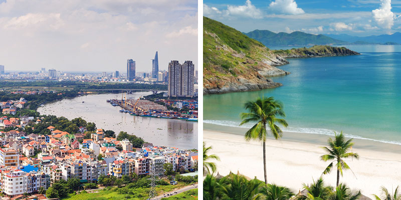 Combined tour Ho Chi Minh(3n)-Phan Thiet(the rest nights) hotel (Ho Chi Minh City, Vietnam) | NOVATOURS
