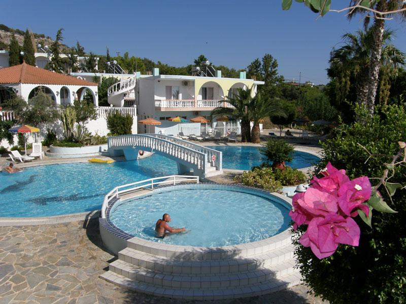 Pefkos Garden viesnīca (Rodas sala, Grieķija)