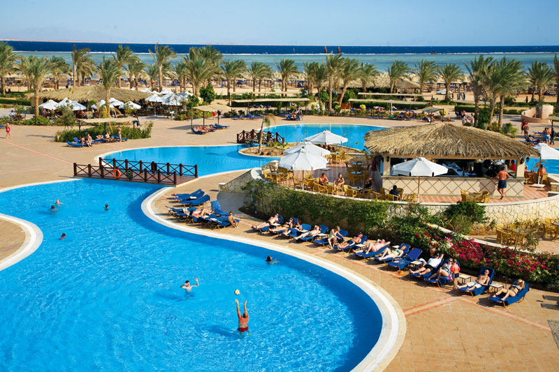 Jaz Mirabel Beach Resort hotell (Sharm el Sheikh, Egiptus)