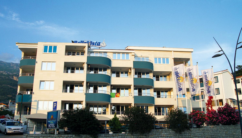 Bella Vista hotell (Tivat, Montenegro – Horvaatia)