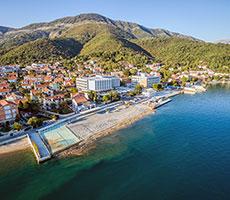 Delfin viešbutis (Tivatas, Juodkalnija - Kroatija)