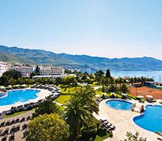 Iberostar Bellevue viešbutis (Tivatas, Juodkalnija - Kroatija)