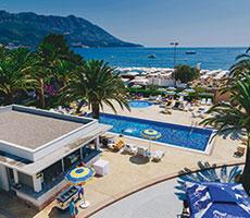 Montenegro Beach Resort viešbutis (Tivatas, Juodkalnija - Kroatija)
