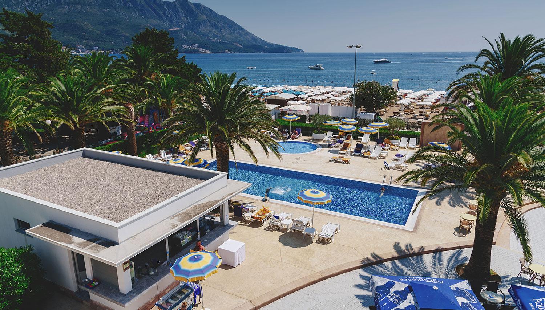 Montenegro Beach Resort hotell (Tivat, Montenegro – Horvaatia)