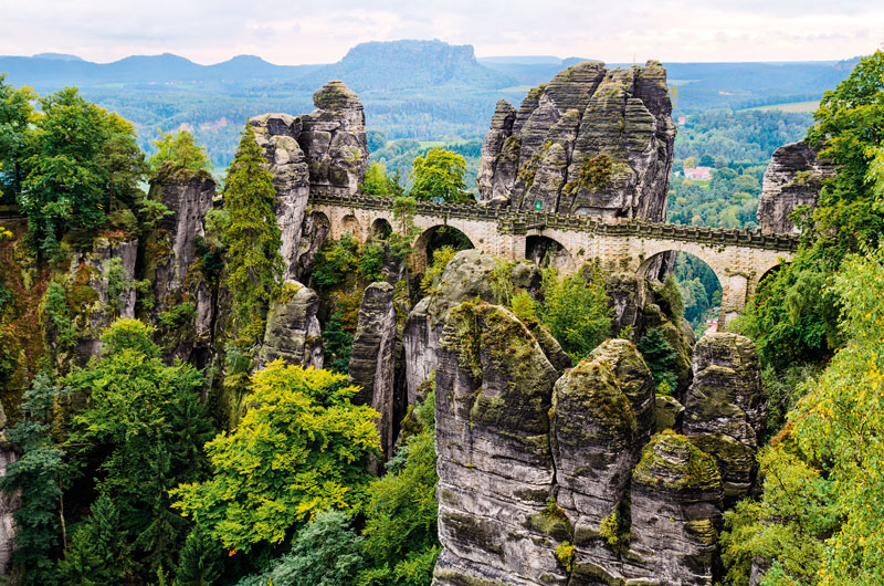Saxon Switzerland  Nationaal Park  Elbsandsteingebergte